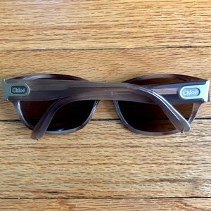 Chloe brown sunglasses